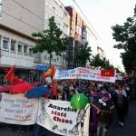 Demo in Mannheim gegen Polizeigewalt in Frankfurt und der Türkei