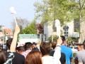 """Nachdem die Nazi-Partei """"Die Rechte"""" ihre für heute angekündigte Demonstration in Worms aufgrund interner Zerwürfnisse absagen musste, mobilisierte die NPD kurzfristig zu einer Kundgebungstour durch verschiedene Städte in Rheinland Pfalz und Baden-Württemberg."""