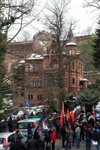 Ein breites Bündnis demonstrierte in Heidelberg gegen eine Veranstaltung der Normannia