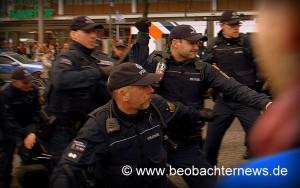 Polizeiübergriff