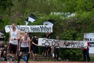 Fußballturnier: Die Ultras mobilisieren gegen den Naziaufmarsch in Karlsruhe