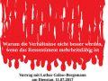 """Vortrag und Diskussion mit Lothar Galow-Bergemann am Dienstag, 11.07.2017 um 20:30 Uhr im JUZ Friedrich Dürr Am Neuen Messplatz Käthe-Kollwitz-Str. 2-4, 68167 Mannheim Versteht man """"Demokratie"""" lediglich im Wortsinne, nämlich als """"die Herrschaft des Volkes"""", so muss einem davor grausen. Schließlich hätte dann der Nationalsozialismus, der das Fühlen, Denken und Wollen einer großen Mehrheit der Deutschen repräsentierte, das Prädikat demokratisch […]"""